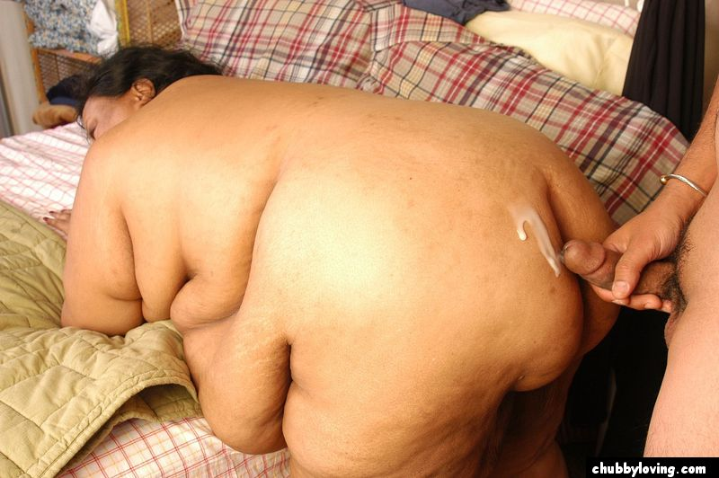 Cock hungry bbw in the kitchen