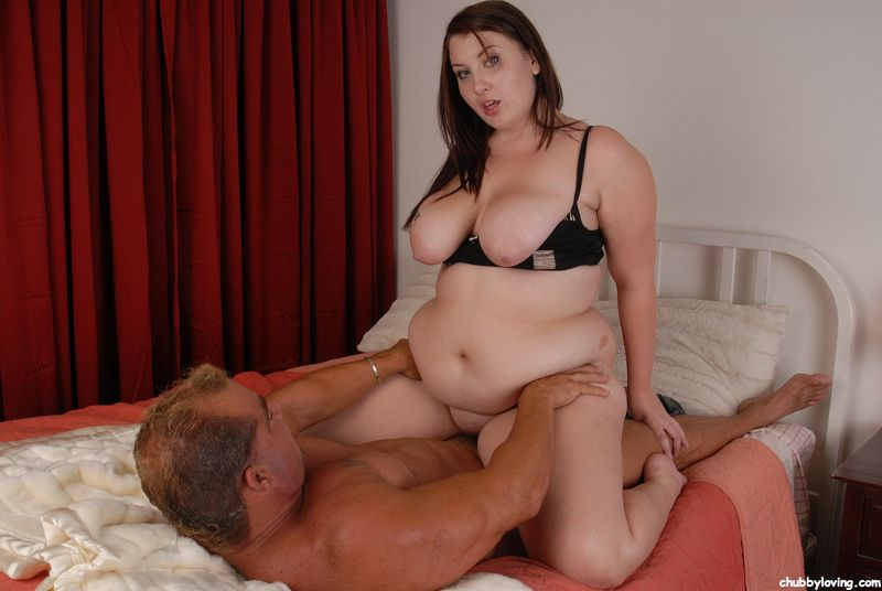 Busty brunette BBW boned CHUBBYLOVING.com #1 for chubby porn lovers!