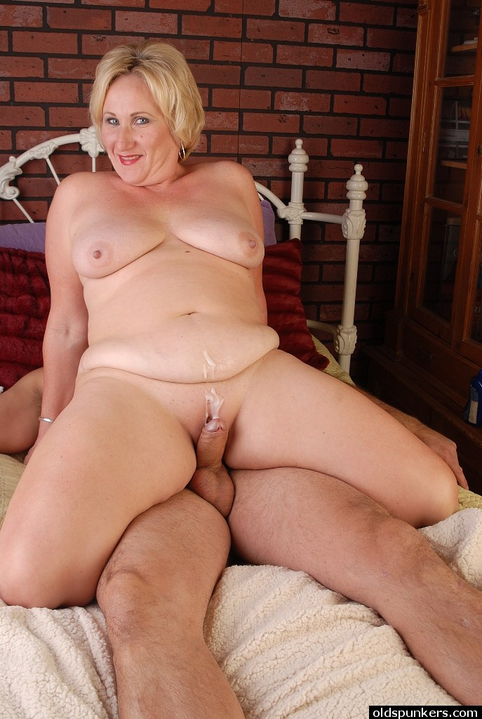 image Horny old spunker is super hot fuck and loves cum