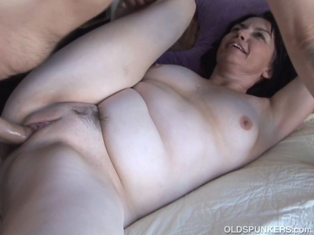 Gorgeous mature amateur loves a hard fucking and hot sticky cum all over her lovely big tits
